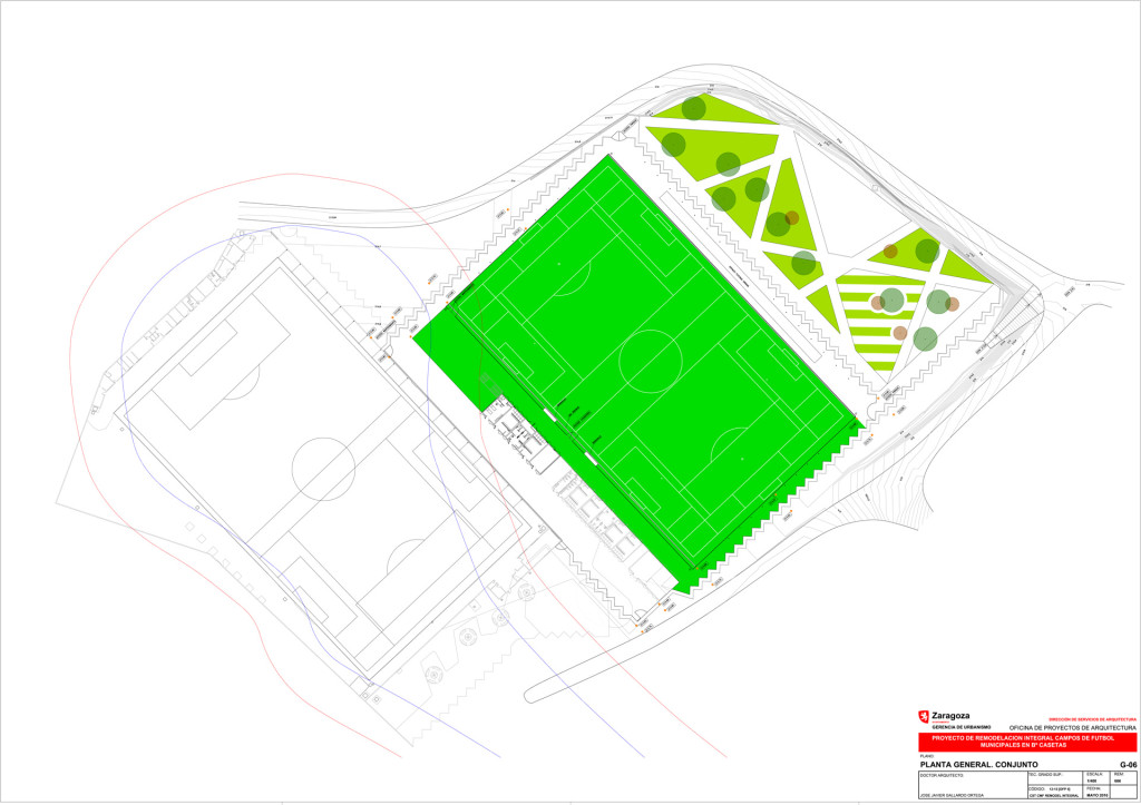 Luz verde a la remodelación integral del campo de fútbol municipal de Casetas