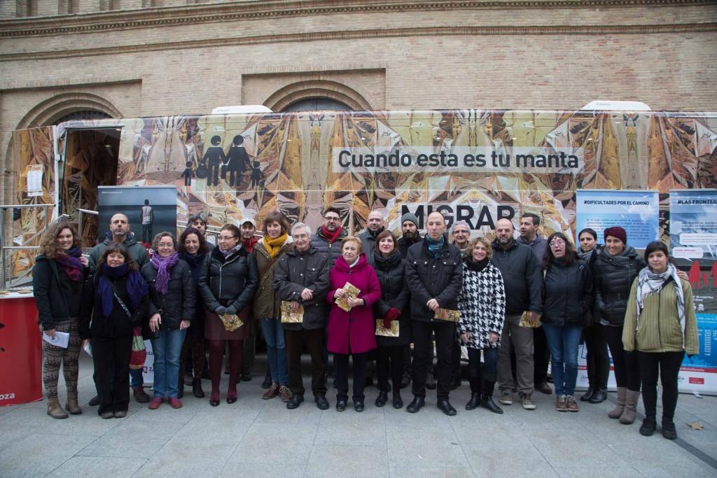 La FAS presenta la campaña de sensibilización sobre protección internacional 'Migrar #EsUnDerecho'