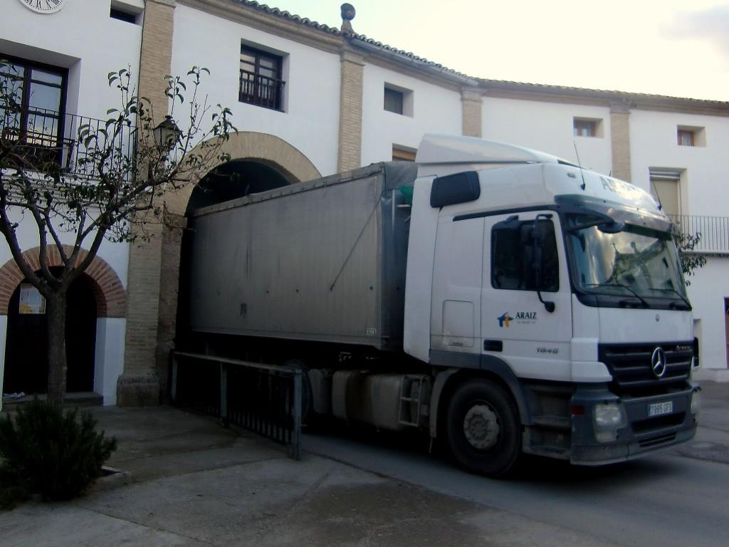 El Conjunto Monumental de Chodes continúa sufriendo los envites de camiones de gran tonelaje