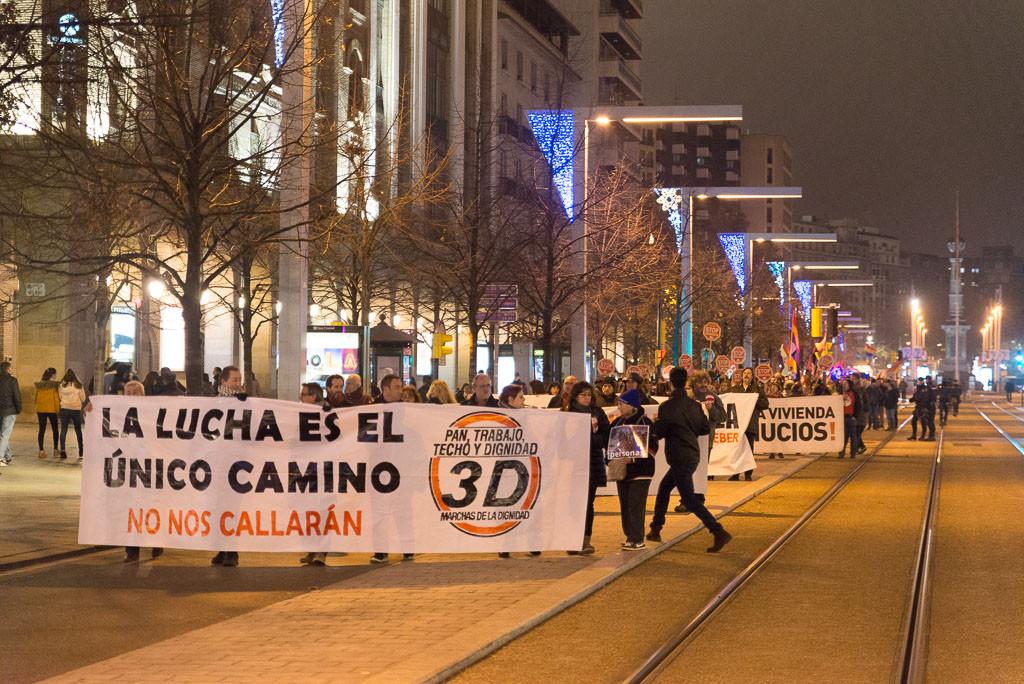 """Las Marchas de la Dignidad llaman a """"construir desde las luchas"""" con una Marcha Estatal a Madrid el 27 de mayo"""