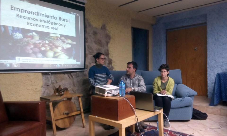 Diversos colectivos se unen en la defensa del buen vivir para el medio rural aragonés a través de la Economía Solidaria