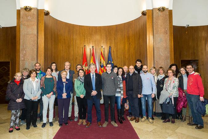 Zaragoza se adhiere a la Declaración de París con el objetivo de poner fin a la epidemia del Sida en el año 2030