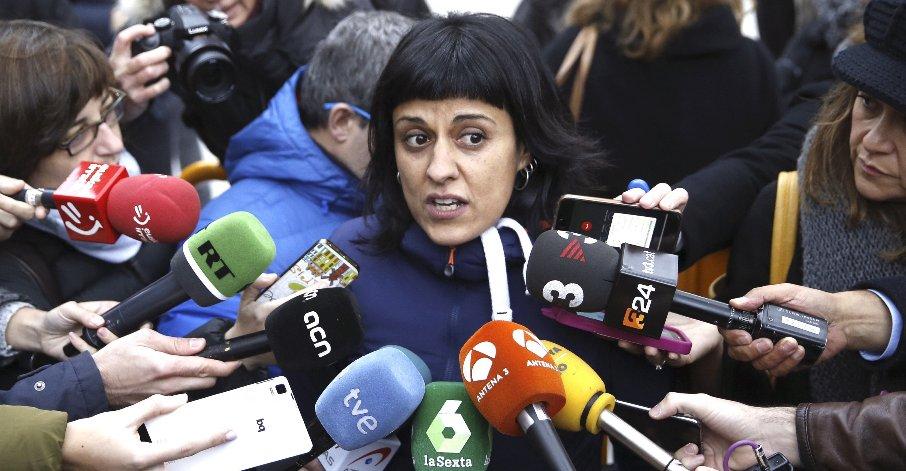 """Anna Gabriel: """"La operación diálogo acaba aquí"""""""