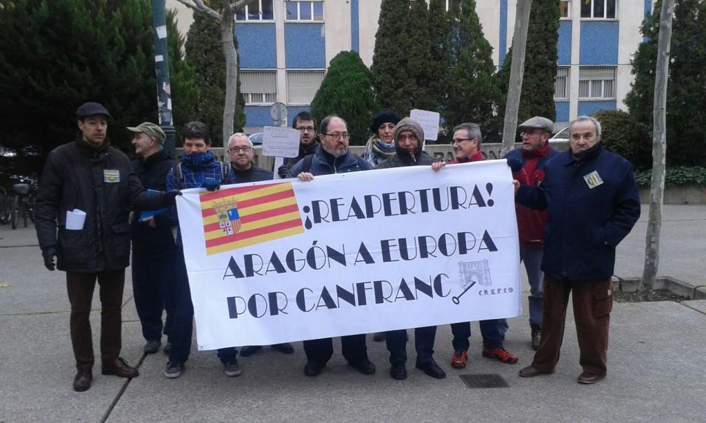 CREFCO exige a De la Serna un compromiso claro con la reapertura de la línea del Canfranc