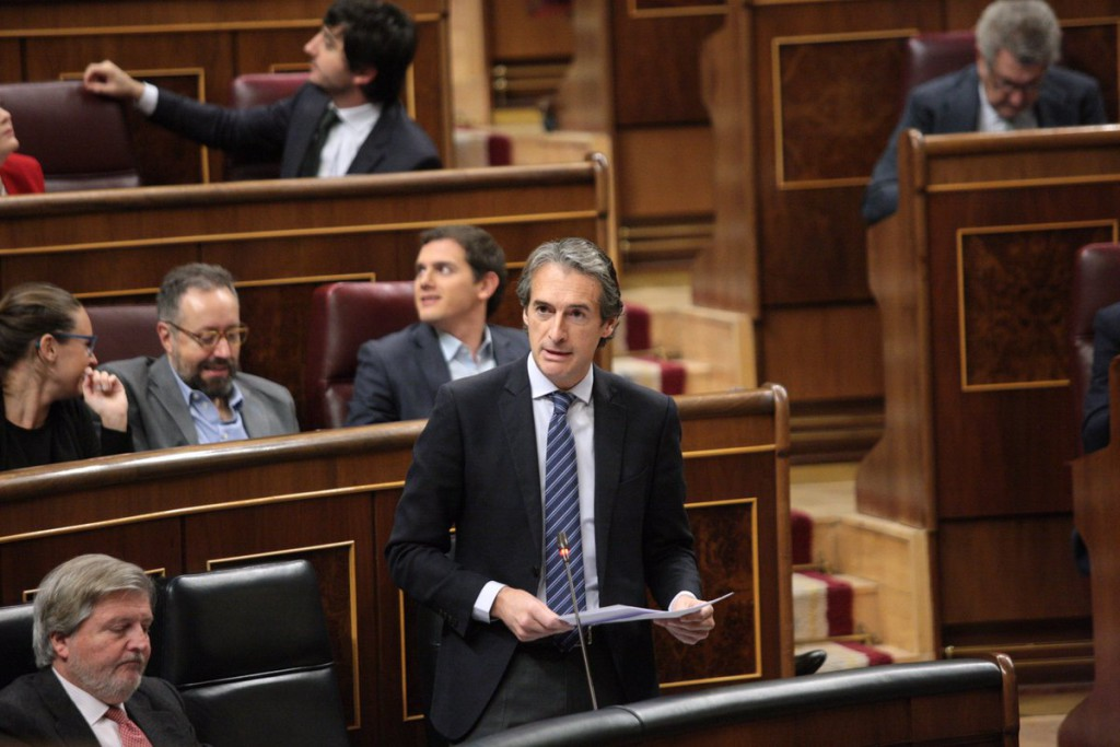 """CHA califica de """"decepcionante para Teruel"""" la primera comparencia del ministro de Fomento en el Congreso"""