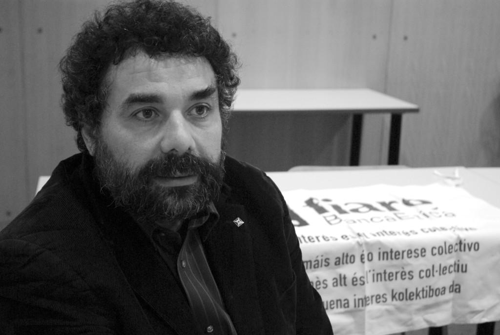 """Ugo Biggeri: """"si la gente entiende el funcionamiento del dinero, va a utilizarlo de una forma solidaria"""""""