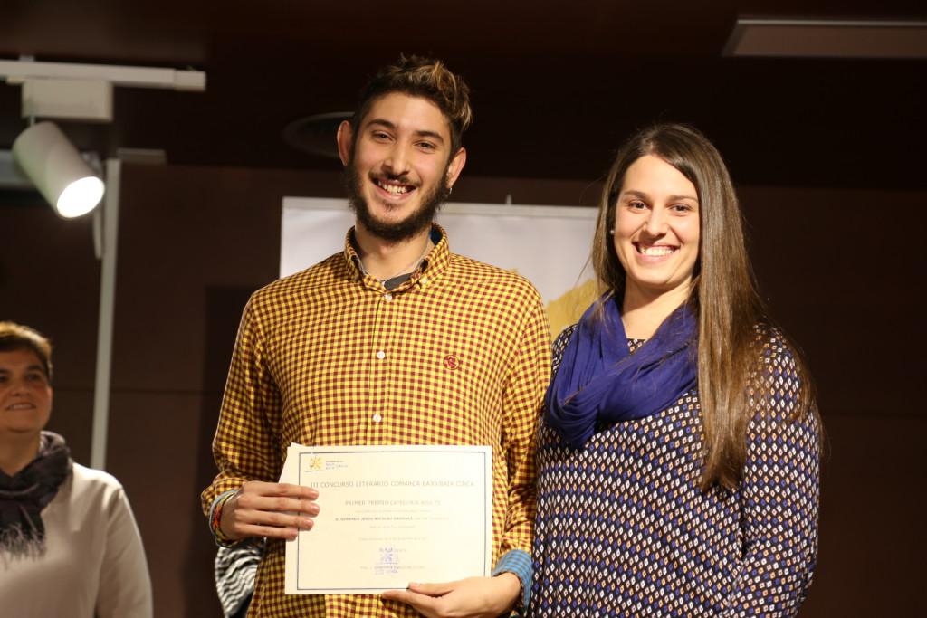 Gerardo Nicolau se proclama ganador del III Certamen Literario Comarca del Baix Cinca