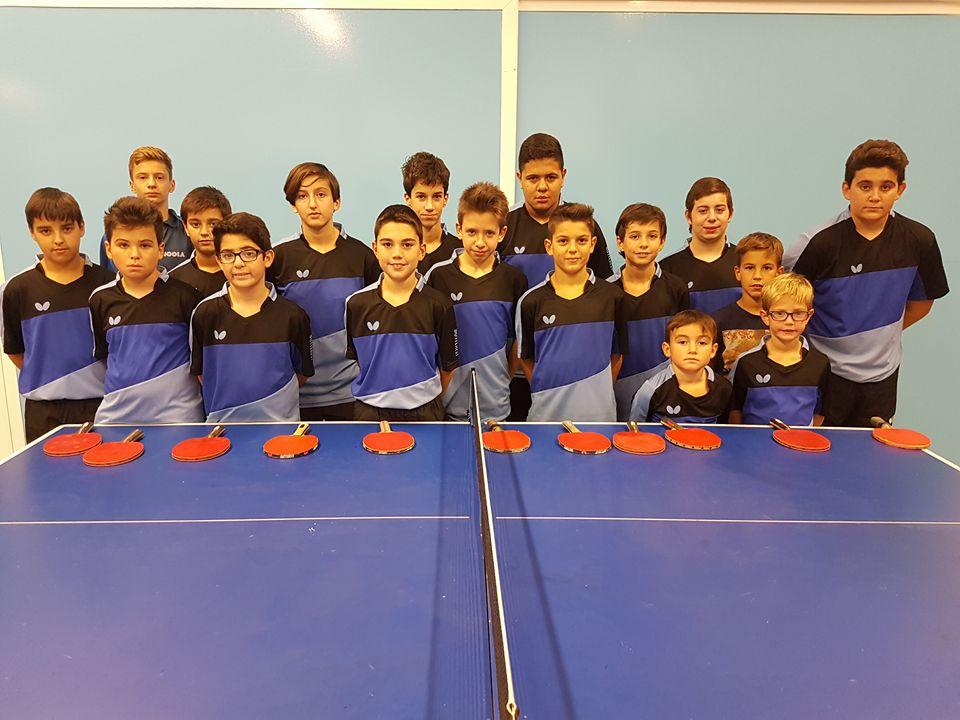 Cuatro clubes aragoneses de tenis de mesa se desplazan a Irun