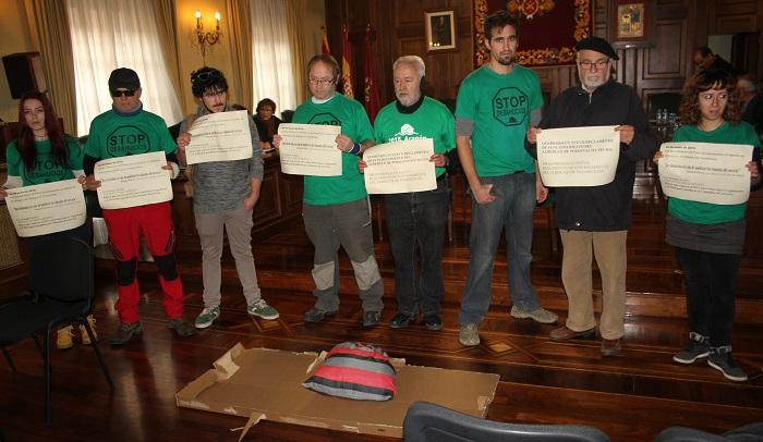 La PAH Teruel vuelve a reclamar la modificación del reglamento de uso del Albergue Municipal de Transeúntes