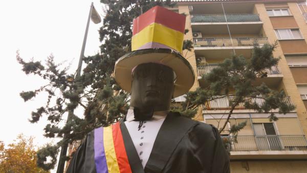El Cantero de Torrero vestido para la ocasión. Foto: @igoiz17 (AraInfo)
