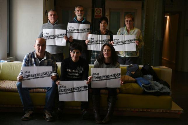 En libertad provisional cuatro de los siete encarcelados de Altsasu
