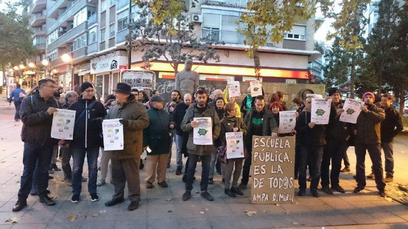 CGT denuncia la creación de 13 aulas concertadas para este curso en Aragón