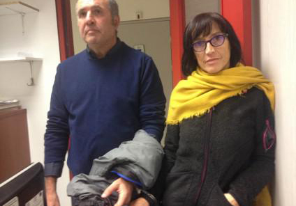 Dos activistas vascos detenidos en Grecia por intentar trasladar a ocho refugiados a Euskal Herria