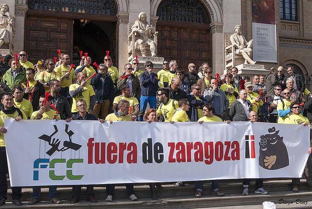 La plantilla de Parques y Jardines convoca una concentración para defender los derechos laborales y las clausulas sociales impugnadas por la patronal