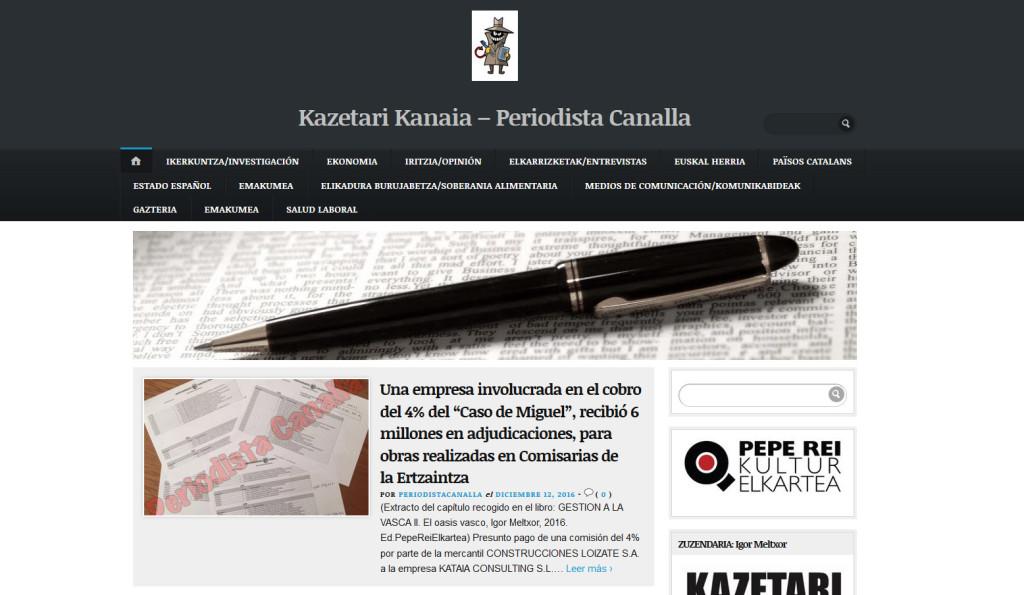 La revista digital 'El periodista canalla' se presenta este viernes en La Pantera Rossa