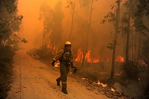 Precariedad contra incendios en Aragón