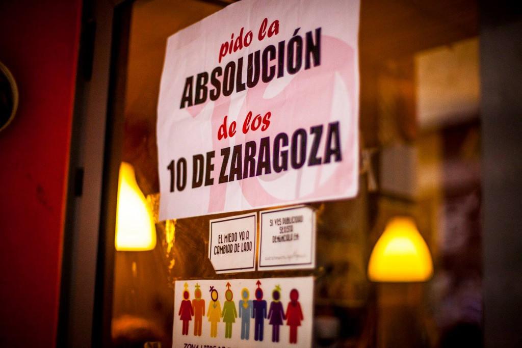 'Los 10 de Zaragoza' acuden al Parlamento Europeo