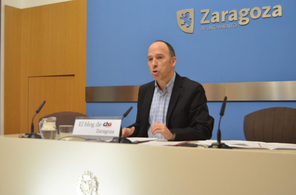CHA presenta 50 enmiendas a los Presupuestos del Ayuntamiento de Zaragoza por valor de casi 7 millones de euros