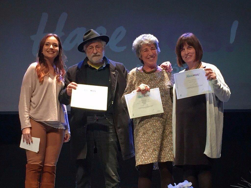 La Coordinadora Biscarrués-Mallos de Riglos premiada por el proyecto 'Abriendo sendas en el río Gállego'