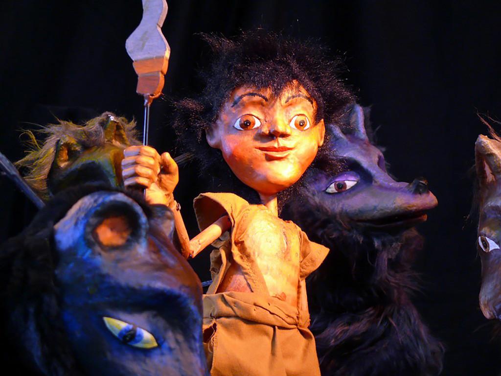 """Títeres Cachirulo presenta en Arbolé """"El libro de la selva"""", la gran historia de Kipling, con marionetas"""