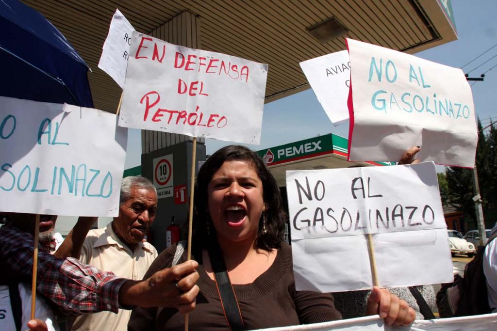 El gasolinazo de México