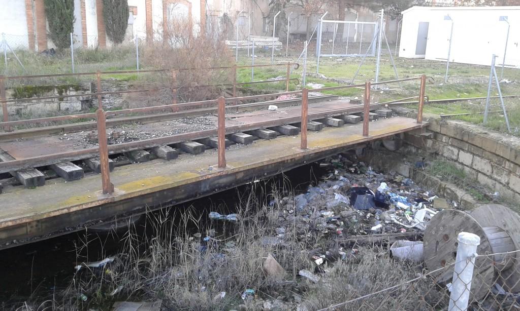CHA propone salvaguardar el patrimonio ferroviario de la antigua estación de Caspe