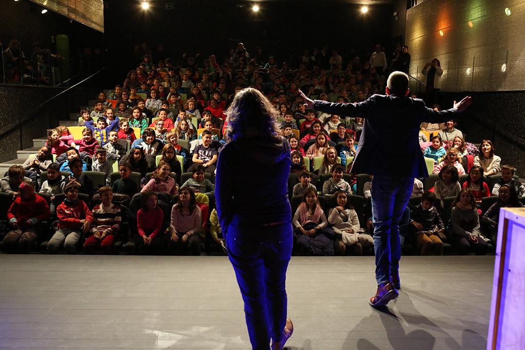 """15.780 escolares participan en el programa """"La Escuela a Escena"""", organizado por el Ayuntamiento de Zaragoza"""