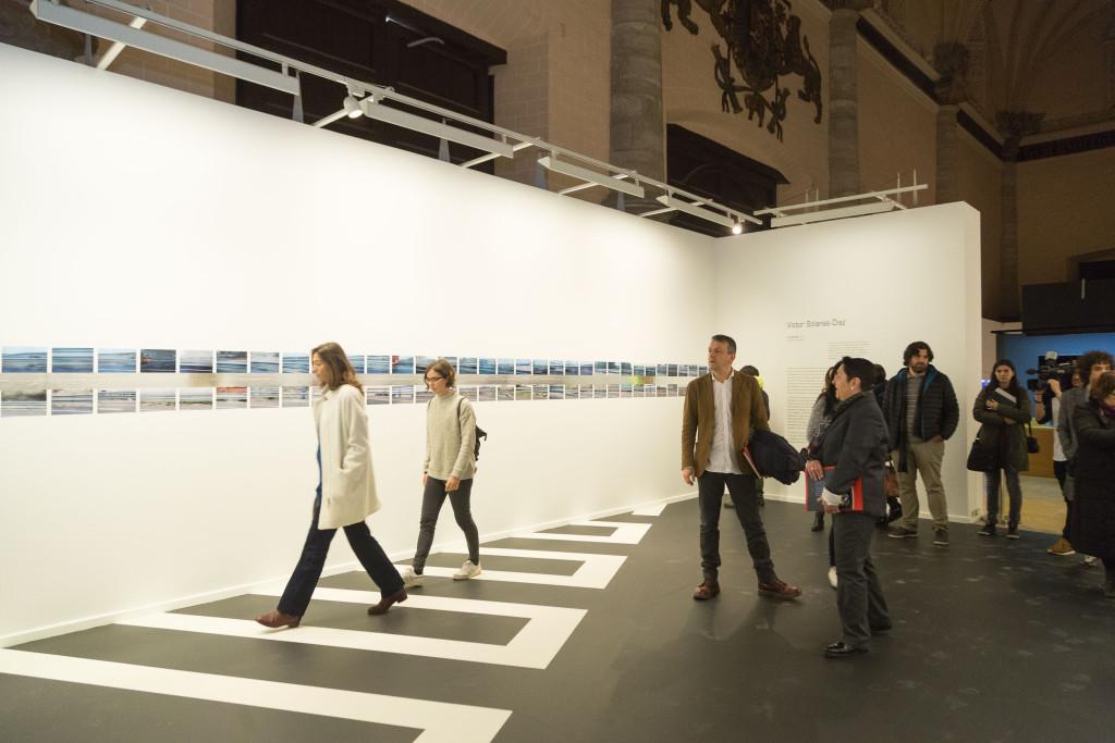 La Lonja se convierte en un espacio de reflexión sobre el tiempo con una nueva exposición