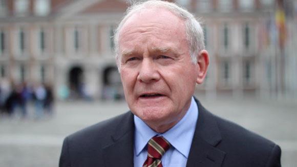 Martin McGuinnes dimite como viceprimer ministro del Gobierno norirlandés