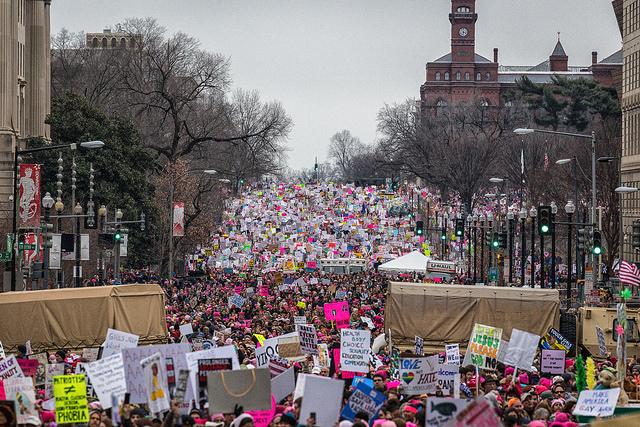 Cientos de miles de mujeres plantan cara a Donald Trump durante los primeros días de su mandato