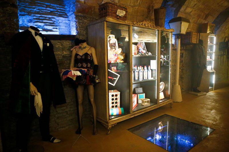 El Sótano Mágico invita a disfrutar de la visita-espectáculo al Museo de la Magia de Aragón