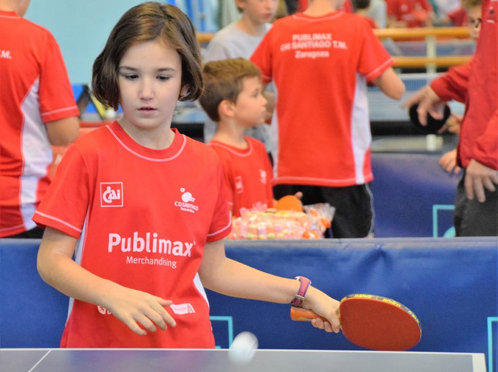Gran fin de semana para el CN Helios y el Publimax CAI Santiago en las ligas de tenis de mesa