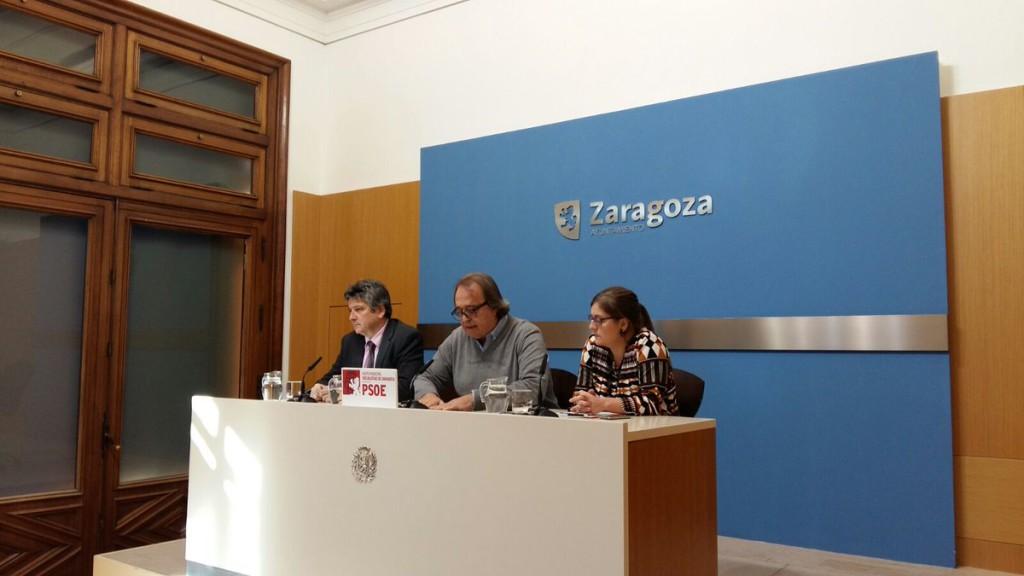 El PSOE rompe las negociaciones del presupuesto municipal de Zaragoza