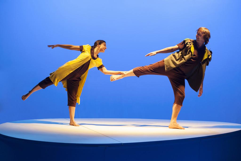 Teatro Arbolé de Zaragoza presenta 'Peter Pan y Wendy' de la compañía riojana El Perro Azul