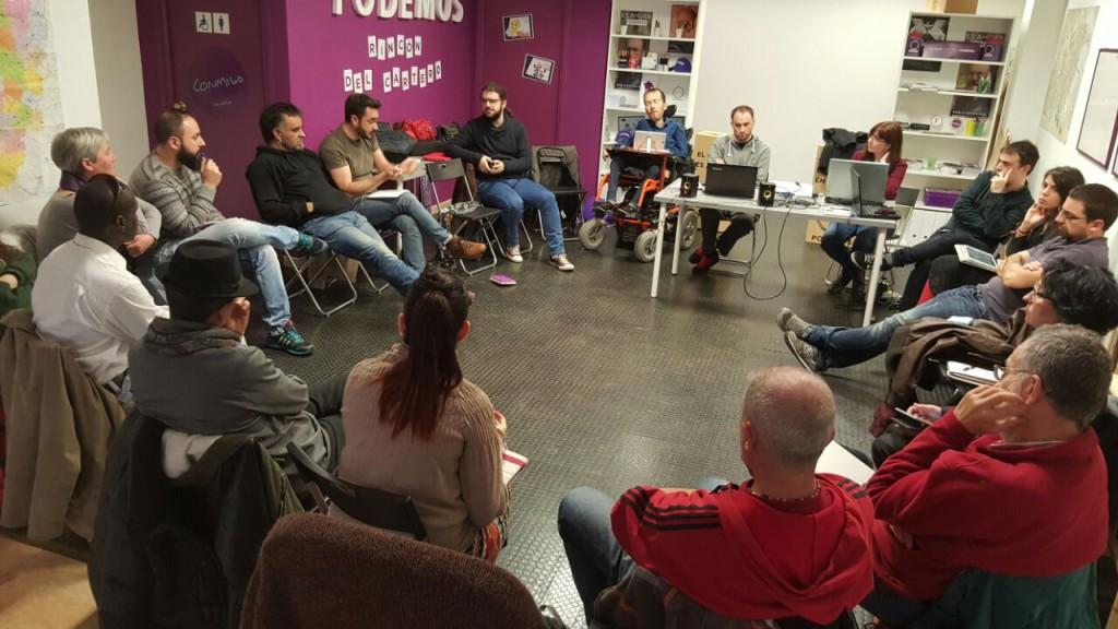 El Consejo Ciudadano de Podemos Aragón ratifica la postura del grupo parlamentario