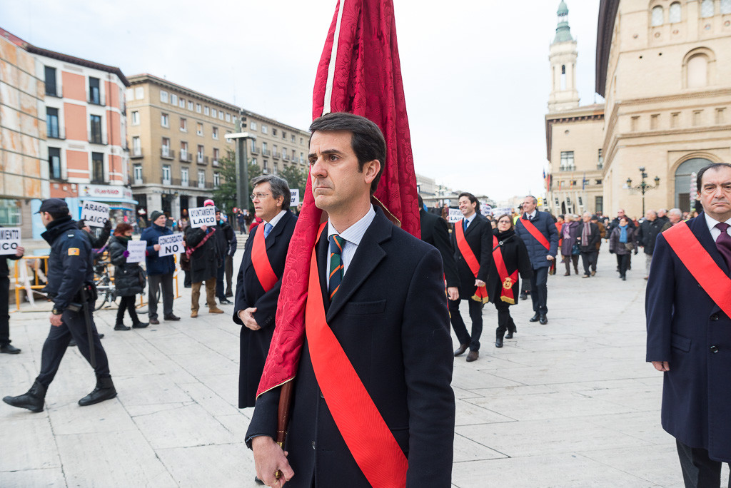 Recuperando pide al PSOE que no se alíe con el PP y el arzobispo de Zaragoza en las inmatriculaciones de la Iglesia