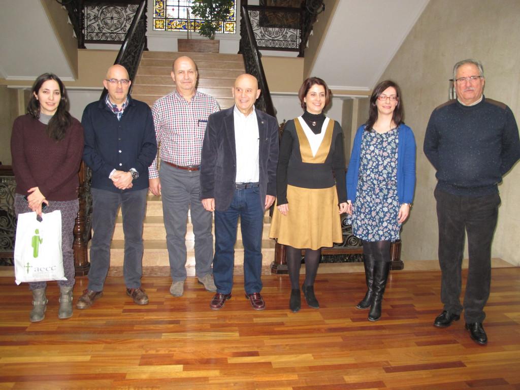 La AECC Teruel conmemora el Día Mundial Contra el Cáncer