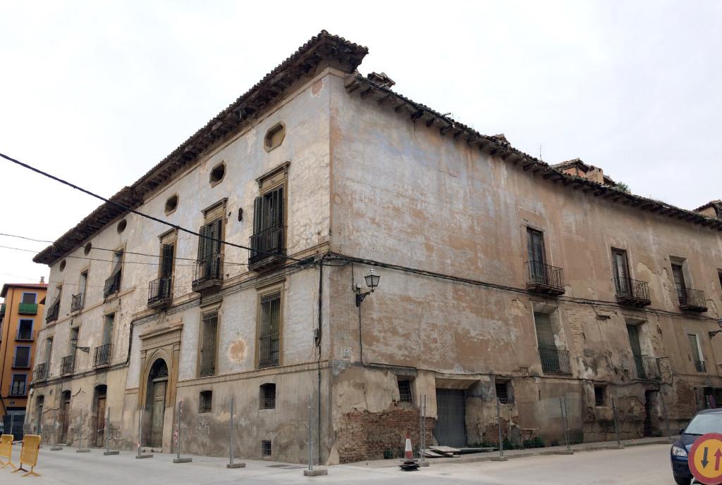12.000€ salvarían el Palacio de Villa Antonia en Calatayud, actualmente en ruinas