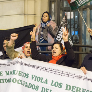 Concentraciones en Zaragoza y Madrid en defensa de los presos políticos saharauis