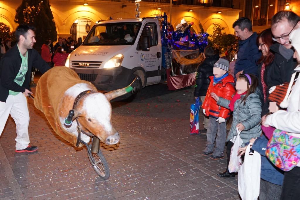 Ganar pide explicaciones por las actividades taurinas en la Feria infantil de Navidad de Teruel