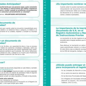 Un total de 7.541 aragoneses y aragonesas han realizado el documento de voluntades anticipadas