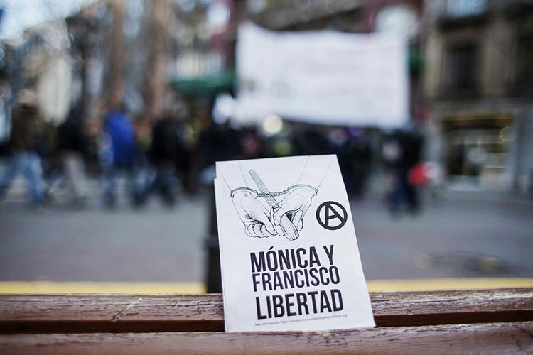 Los anarquistas Mónica y Francisco saldrán de prisión para ser expulsados del Estado español