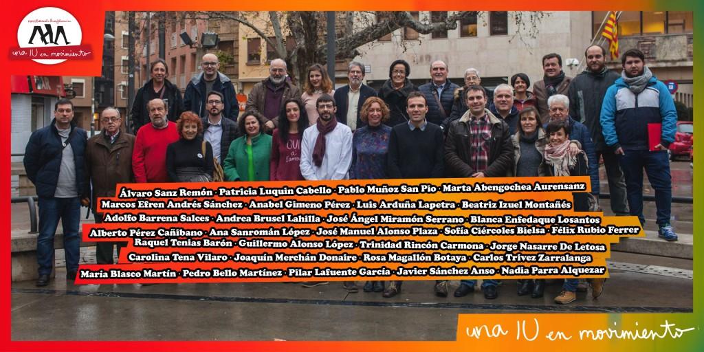 La candidatura de Álvaro Sanz gana, por estrecho margen, las elecciones a los órganos de dirección de IU Aragón