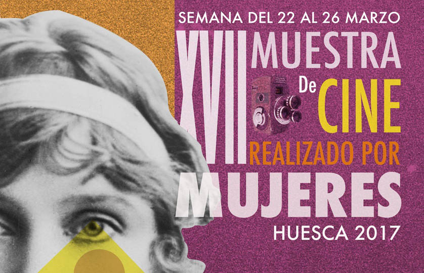Susana Abad, autora del cartel de la XVII Muestra de Cine realizado por Mujeres en Uesca
