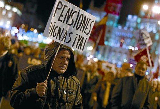 Aragón a la calle en defensa de las pensiones