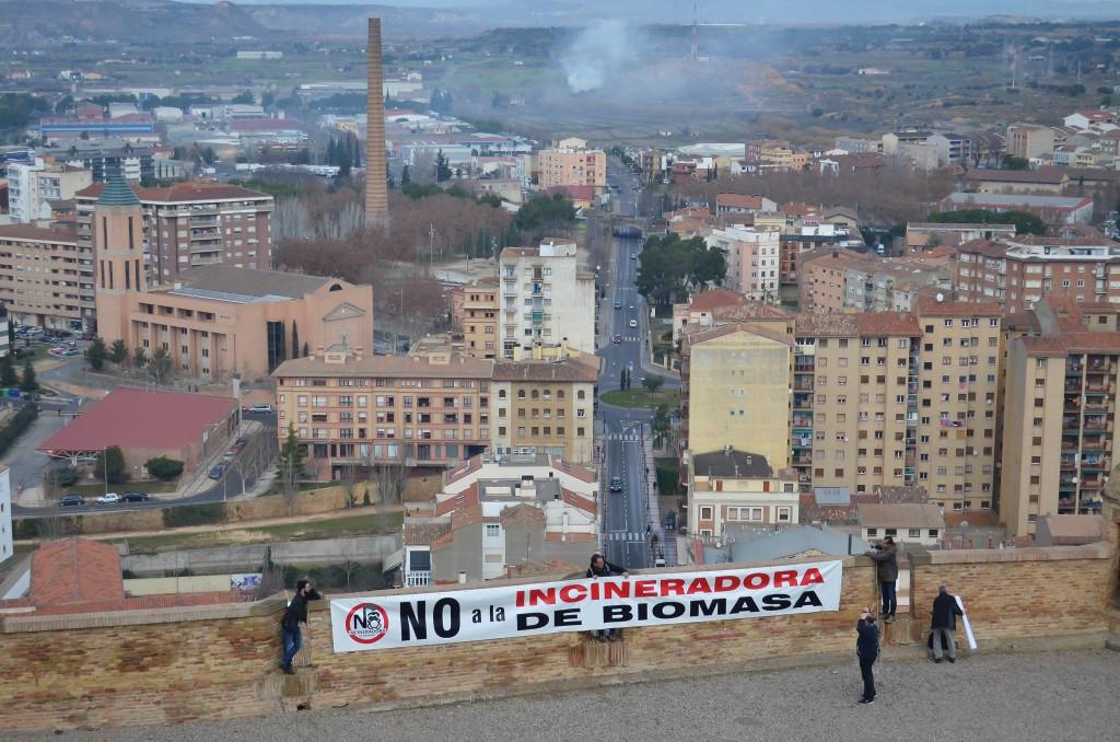 Presentan un recurso de alzada contra la propuesta de Red de Calidad del Aire presentada por Solmasol para la Incineradora de Biomasa de Monzón
