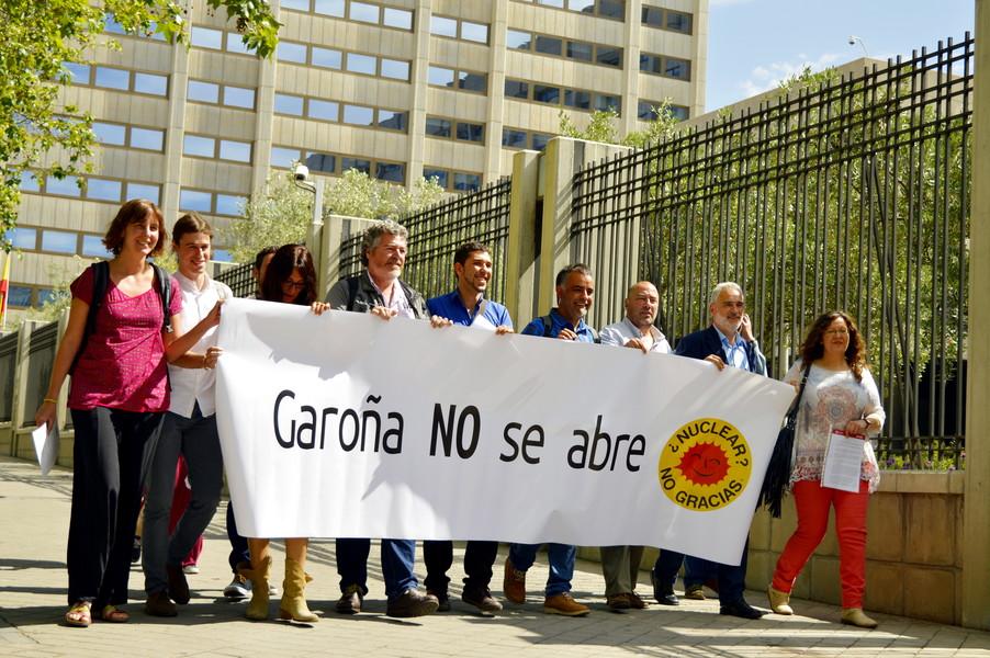 Zaragoza en Común registra una moción contra la reapertura de Garoña