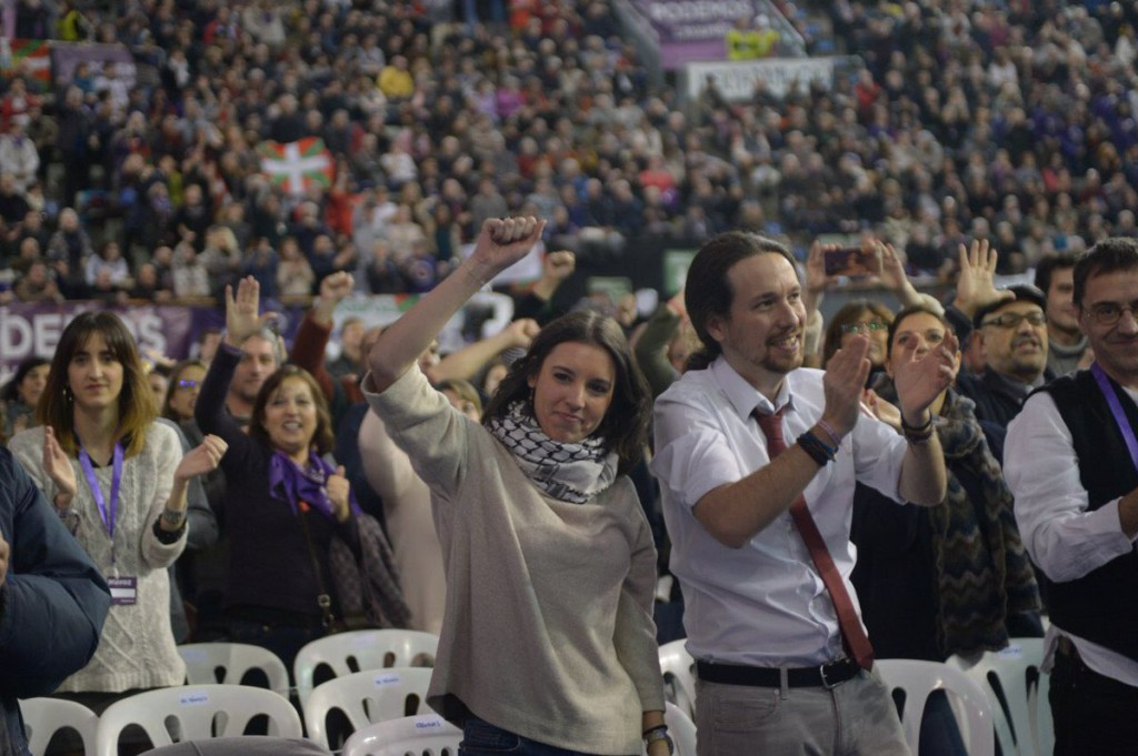Irene Montero relevará a Íñigo Errejón como portavoz de Unidos Podemos en el Congreso