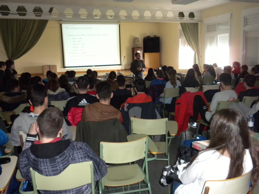 El IES Joaquín Costa de Cariñena acerca al alumnado a la realidad actual del aragonés
