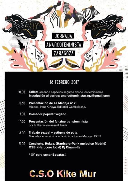 Jornada 18feb Anarcofeminista